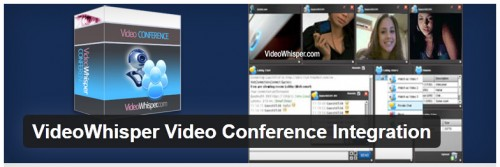 VideoWhisper Video Conference Integration