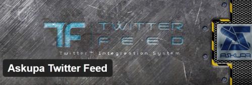 Askupa Twitter Feed