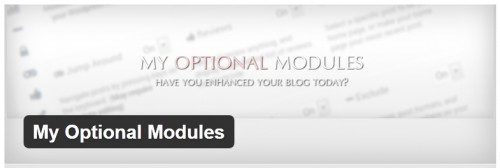 My Optional Modules