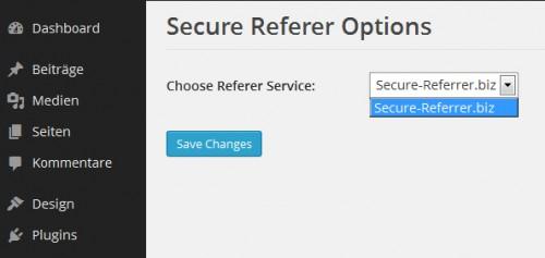 WP Secure Referer Plugin