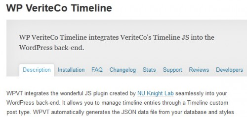 WP VeriteCo Timeline