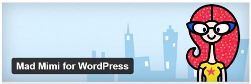 Mad Mimi for WordPress