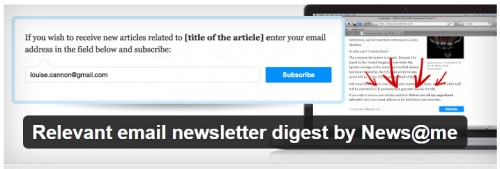 Relevant Email Newsletter Digest