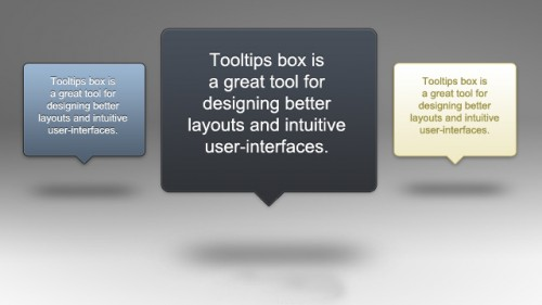 Tooltip Popup Boxes