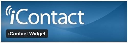 iContact Widget