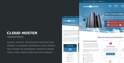 Cloud Hoster - Responsive Modern Hosting Theme