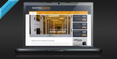 HostingSquare - Hosting WordPress Theme