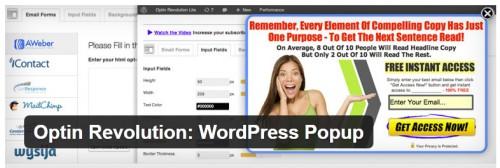 Optin Revolution: WordPress Popup