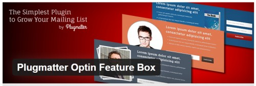 Plugmatter Optin Feature Box