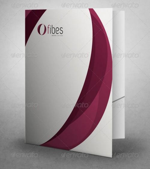 Corporate File Folder Mock Ups