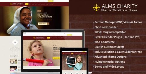 Alms - Church & NGO Responsive WordPress Theme
