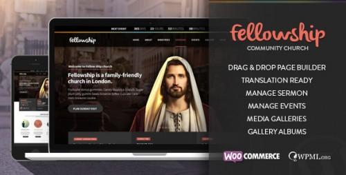 FellowShip - Church WordPress Theme