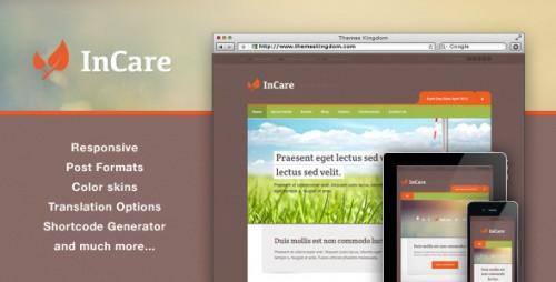 InCare - Responsive Eco/NonProfit WordPress Theme