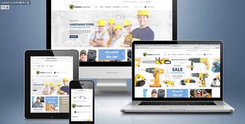 456Industry eCommerce WordPress Theme