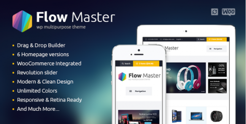 FlowMaster - Electronics Shop WooCommerce Theme