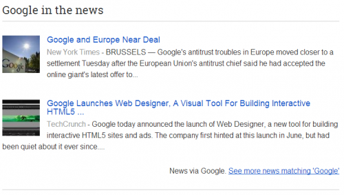 Simple Google News