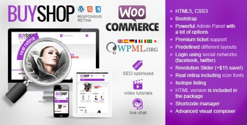 BuyShop - Responsive WooCommerce WordPress Theme