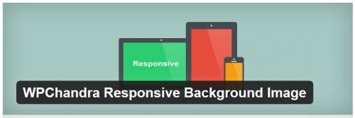 WPChandra Responsive Background Image