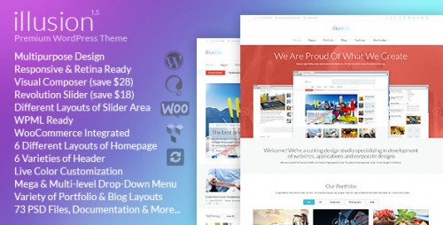 illusion - Multipurpose Woocommerce Theme