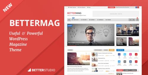 BetterMag - News, Blog, Magazine WordPress Theme
