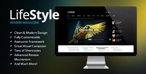 LifeStyle - Magazine Review WordPress Theme