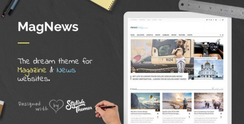 MagNews - Magazine, News & Blog WP Theme