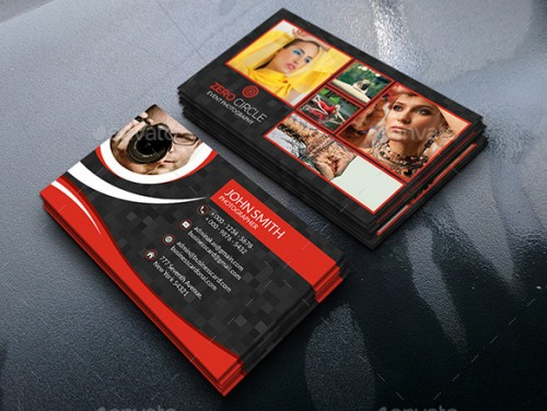 Amazing Photography Business Card Bundle