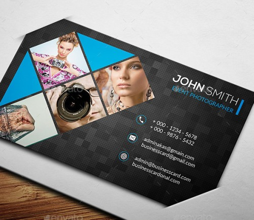 Awesome Photography Business Card