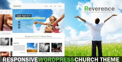 Reverence - Church Responsive WordPress HTML 5 Theme