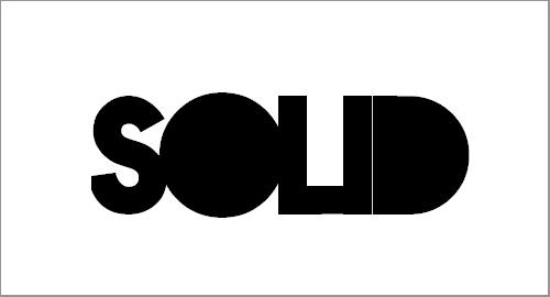 Nova Solid Font