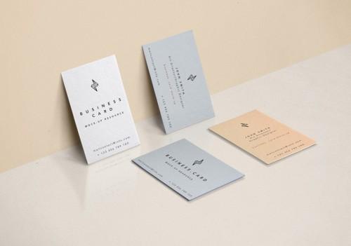 Fantastic Free Business Card Mockup PSD