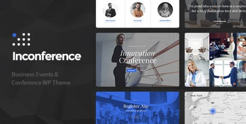 In Conference - Conference, Event WordPress Theme
