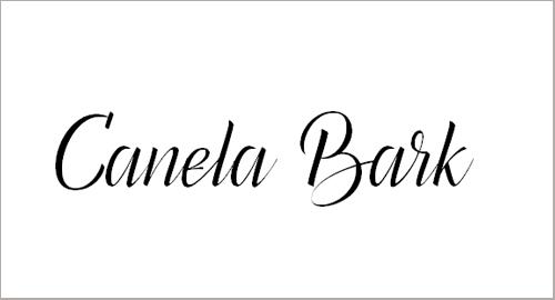 Canela Bark Personal Use Font