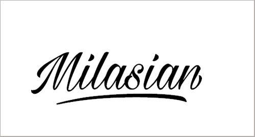 Milasian Thin Font