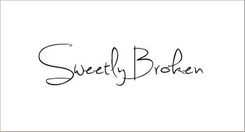 Sweetly Broken Font