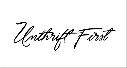 Unthrift Personal Font