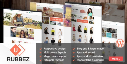 Rubbez - WooCommerce & Corporate Responsive Theme