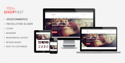 ShopFast - Modern Woocommerce WordPress Theme