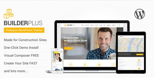 Builder Plus - Construction Business WP Theme